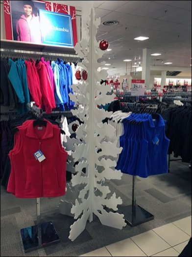 PLYWOOD CHRISTMAS TREE 1