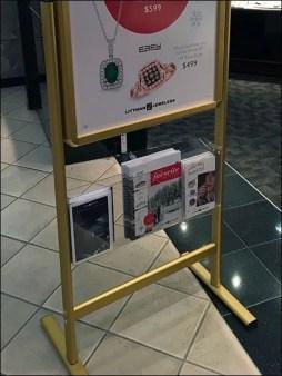 Store Entry Sign Brochure Holder 2