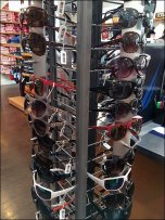 Small-Footprint Sunglasses Spinner Display