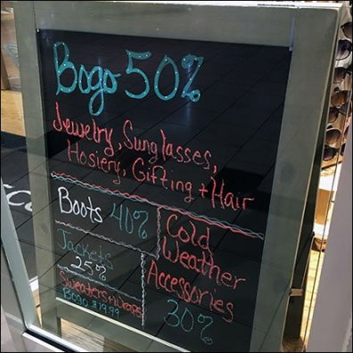 Winter Flourescent BOGO Chalkboard 1