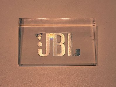 JBL Acrylic Table-Top Logo Plaque
