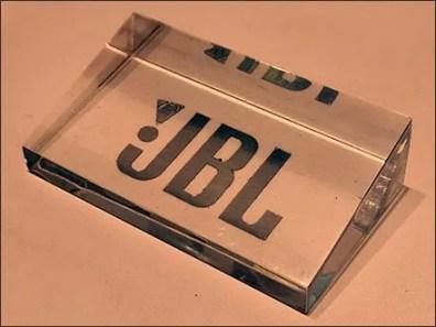 Acrylic JBL Logo Plaque 3