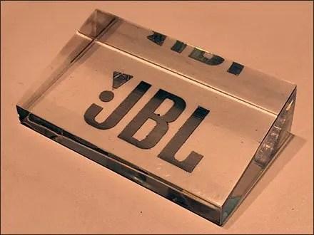 Acrylic JBL Logo Plaque Main