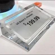 Acrylic JBL Price Label Holder Main