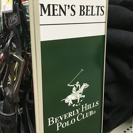 Beverly Hills Polo Club Belt PowerWing