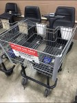 Shopping Cart for In-Store Use Only