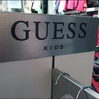 Guess Branded Faceout Pylon