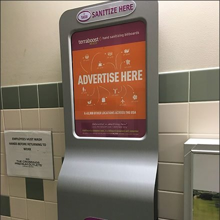 Hand Sanitizer Billboard Out-of-Home Advertising Main
