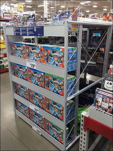 Hollow Core In-Store Display Insights