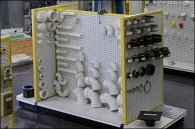 Plumbing & Hardware Pegboard Outfitting