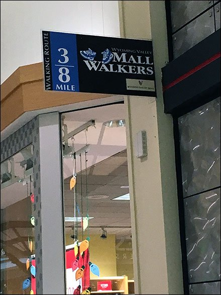 Mall Walkers Mile Marker Overall