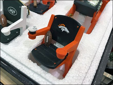 NFL Branded Styrofoam Stadium Seat Display Main