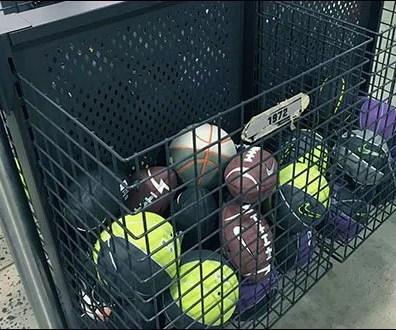 Nike Branded Ball Bulk Bins