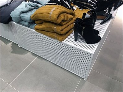 Perforated Platform Merchandising 2