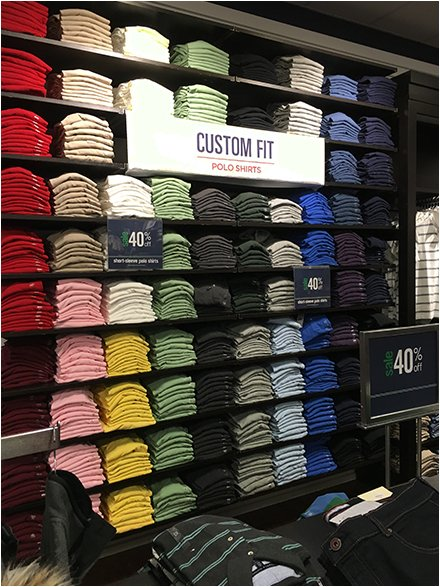 Polo Custom Fit Shirts Overall