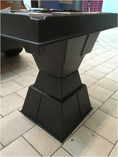 Pylon Geometric Table Base 3