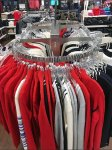 Round-End Rack for Apparel Aux