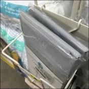 Comfort Bay Side-Saddle Pillow Case Rack