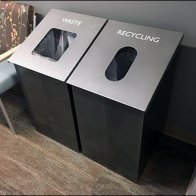 Waste vs Recycling Containers Overall