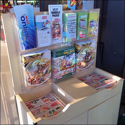 Coupons and Catalogs in Grocery Main