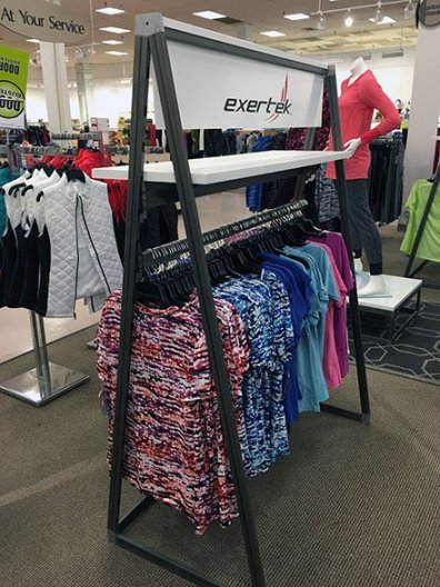 Exertek Apparel Rack Triangle 1