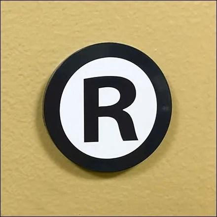 Geisinger Registered Trademark in Medical Retail CloseUp