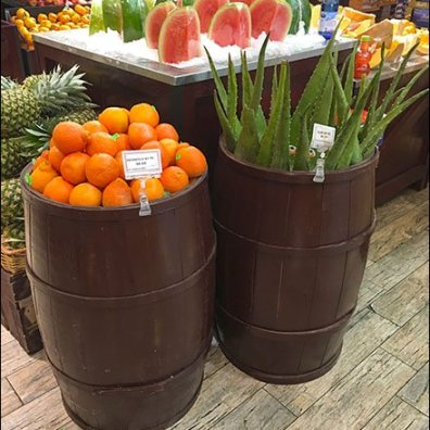 Gourmanoff Produce Aloe Bulk Barrel 1