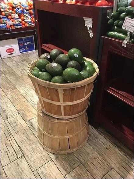 Gourmanoff Produce Bentwood Baskets Main