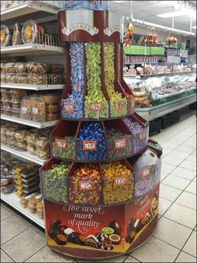 Gourmanoff - Roshen Gravity Feed Candy Bulk Bins 1