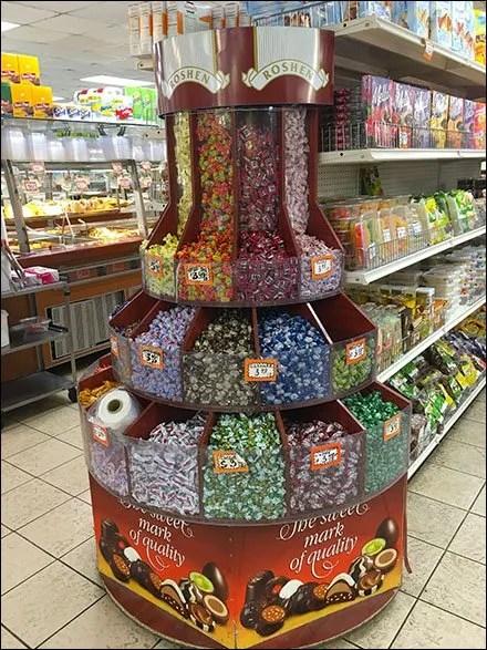 Gourmanoff - Roshen Gravity Feed Candy Bulk Bins Main