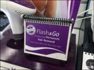 Half-Width Spiral-Bind Flash & Go