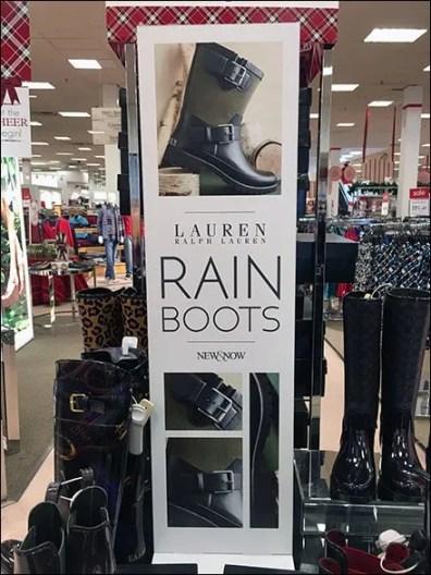 Ralph Lauren Elevates Rain Boots