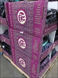 Rare Earth Handbag Pallet Merchandising 2