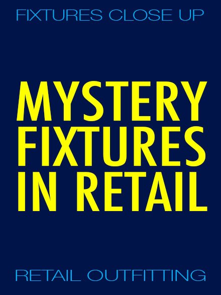 Retail Mystery Fixtures Yellow