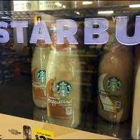 Starbucks Branded Overhead Cooler 3
