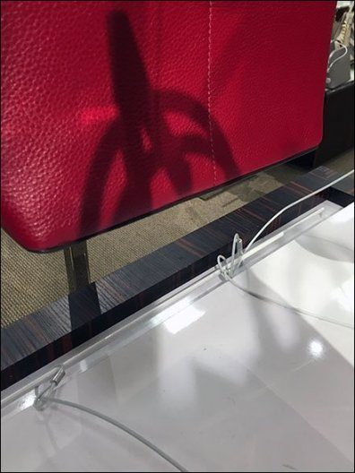 Table-Top Built-In Security Teather Anchor 3