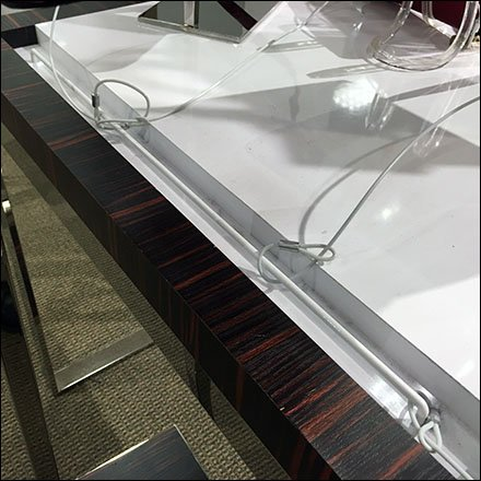 Table-Top Built-In Security Teather Anchor Main