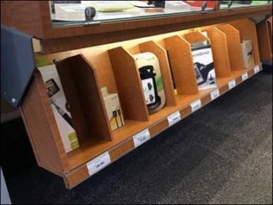 Under Cabinet Display Bins 3