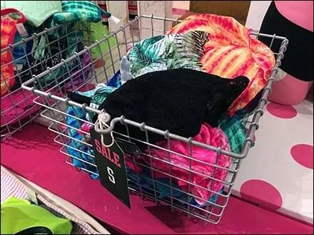 Victoria's Secret Bra Baskets in Open Wire