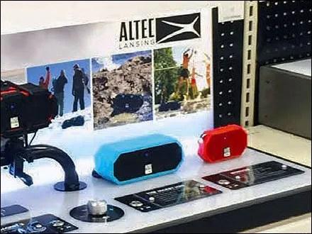 Bluetooth Speaker Try-Me At Volume 11