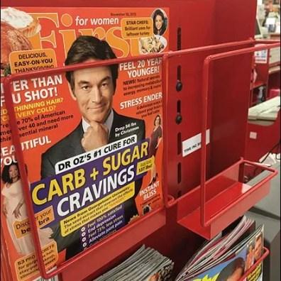 Cashwrap Staggered Magazine Rack 2