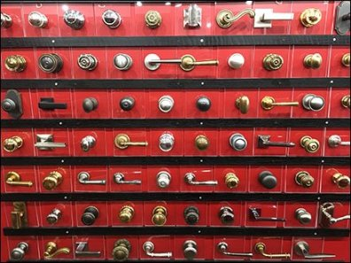 Concierge Hardware Door Knob Display