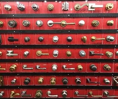 Concierge Hardware Door Knob Display