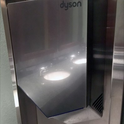 Dyson AirBlade 5 Stainless Steel Backsplash 1