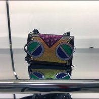 Fendi Audiophile Branded Boombox Purse 1