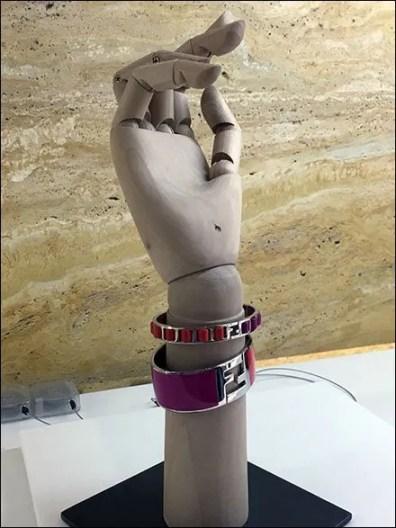 Fendi Single Handform Bracelet 2