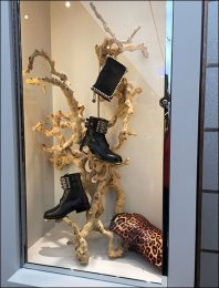Goth Boots and Branches 1