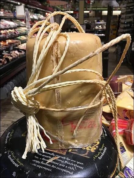 Gourmanoff Cheese Wheel Drum Closeup