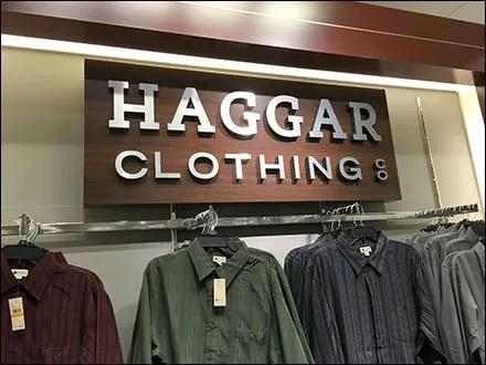 Haggar Clothing Deptmental Branding 3