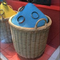 Hermes Color Sands Wicker Baskets 3